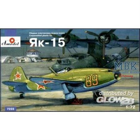 Yakovlev Yak-15 sov. jet fighter