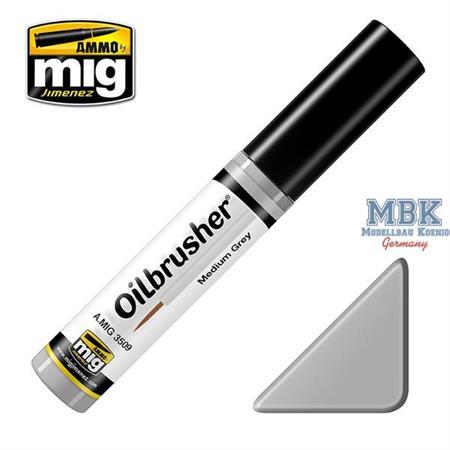 Oilbrush Medium Grey