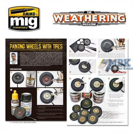 Weathering Magazine No.25 Räder, Ketten (Deutsch)