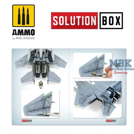 How To Paint USAF Navy Grey Fighters Solution Book