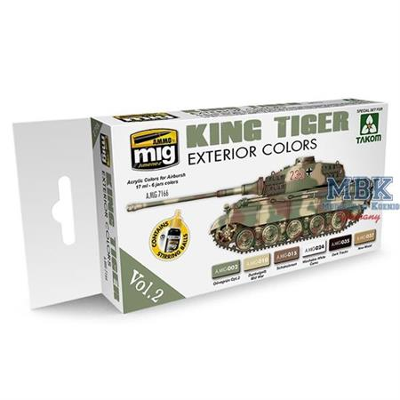 KING TIGER EXTERIOR COLOR (SPECIAL TAKOM EDITION)
