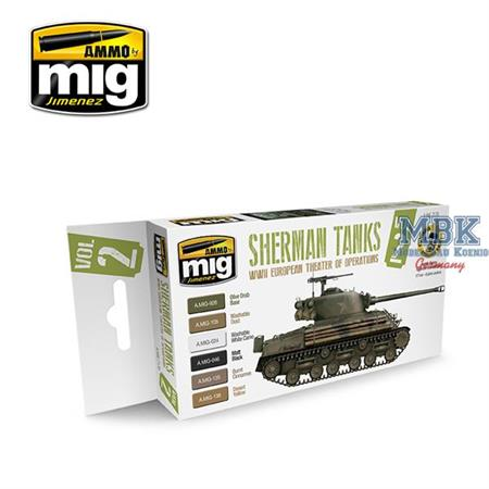Sherman Tanks Vol. 2 (WWII European Theater)