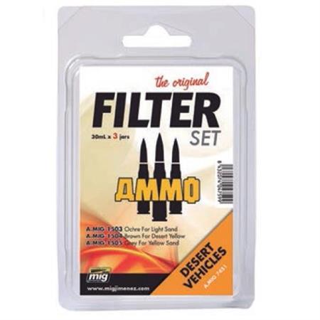 Filter Set for Desert Vehicles