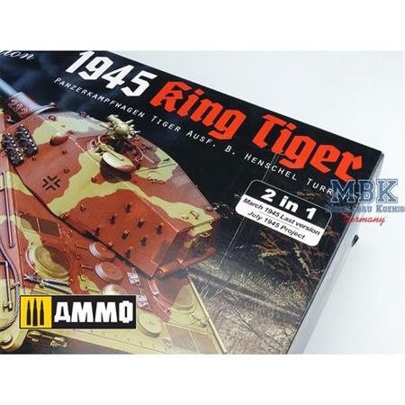 King Tiger Henschel latest Version 1945