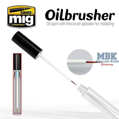 Oilbrush Dark Mud
