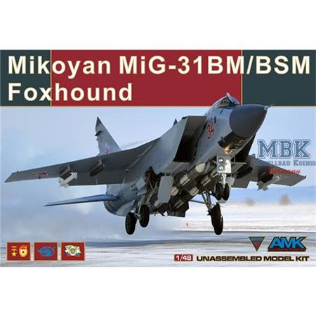 MiG-31 BM/BSM Foxhound