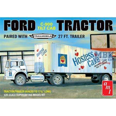 Ford C900 Hostess Truck with Trailer