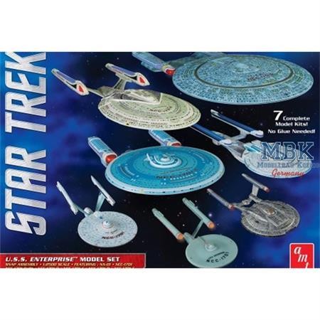 Star Trek U.S.S. Enterprise Model Set (7 Modelle)