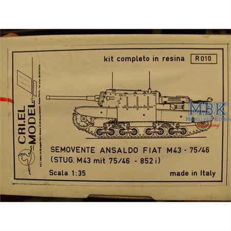 Semovente Fiat M43 - StuG M43 852 (i)