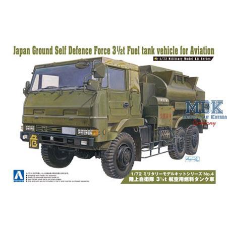 JGSDF 3 1/2t Fuel Tank Vehicle for Aviation