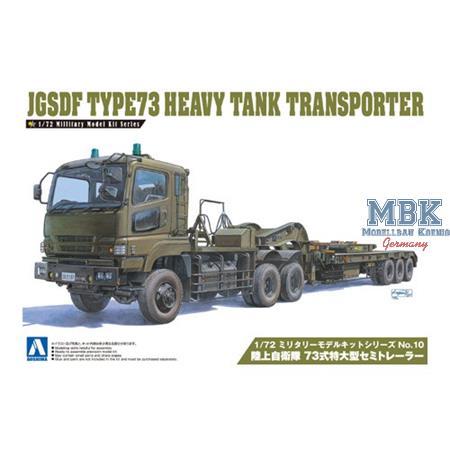 JGSDF Type73 Heavy Tank Transporter (Semi Trailer)