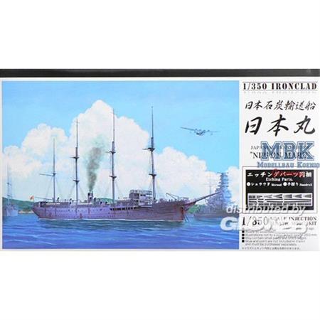 """Jap. Transporter """"Nippon Maru"""" w/ Ätzteilen"""