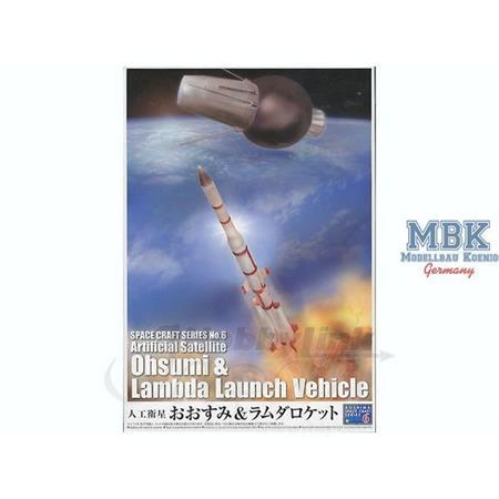 Satellite Ohsumi & Lambda Launch Vehicle