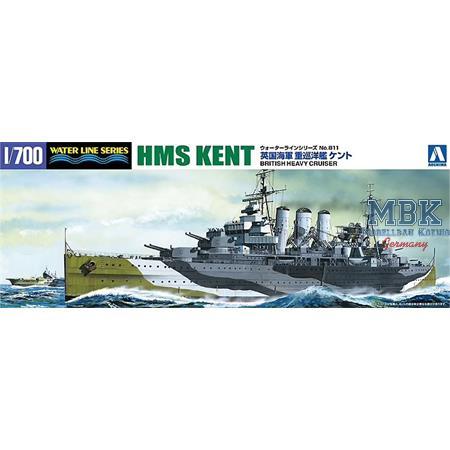 British Heavy Cruiser Kent