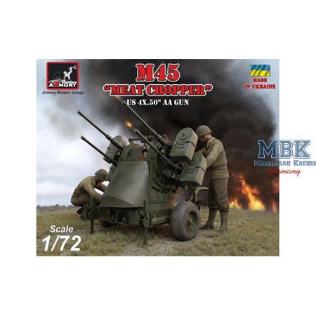"M45 Quadmount on M20 trailer ""Meat Chopper"""