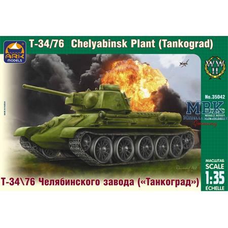 "T-34\76 of Chelyabinsk Plant ""Tankograd"""