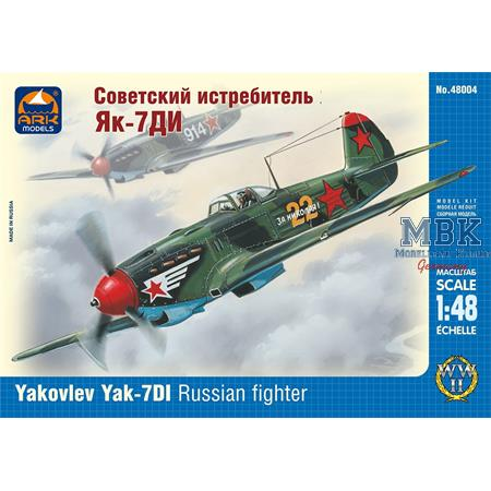 Yakovlev Yak-7DI Russian fighter