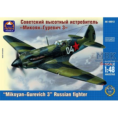 """Mikoyan-Gurevich 3"" Russian high-altitude fighter"