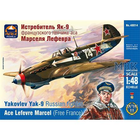 Yakovlev Yak-9 Ace Marcel Lefevre (Free France)