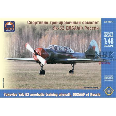 Yakovlev Yak-52 erobatic training aircraft Maestro