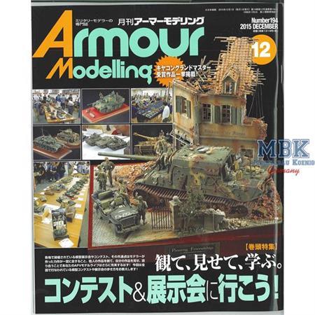 Armour Modelling December 2015 (Vol.1934)