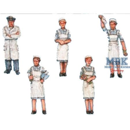 Sanitätspersonal / Hospital staff