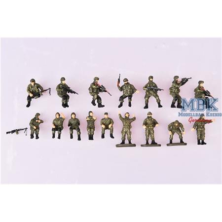 Russian modern Crew and soldier set