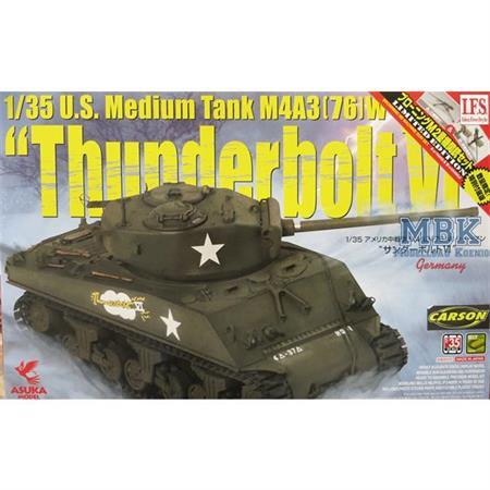 US SHERMAN M4A3 Thunderbolt VI
