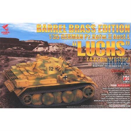 "Pz.Kpfw.II Ausf.L""Luchs"" 4.Pz Div mit Metallrohren"