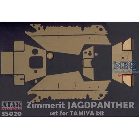 Zimmerit für Jagdpanther (Tamiya)