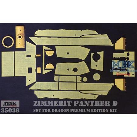Zimmerit für Panther D (Dragon Premium)