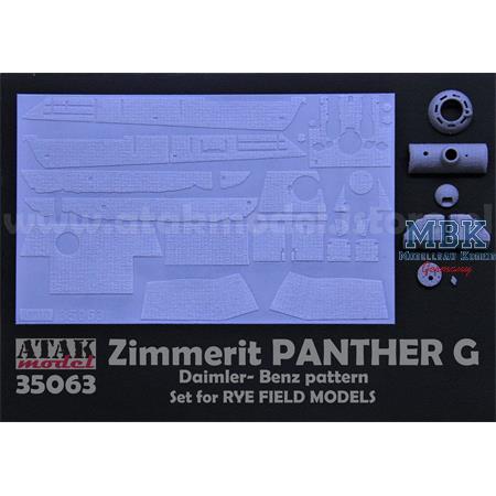 Zimmerit für Panther Ausf G  - RFM Rye Field Model
