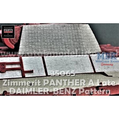 Zimmerit für Panther A Late DB Pattern