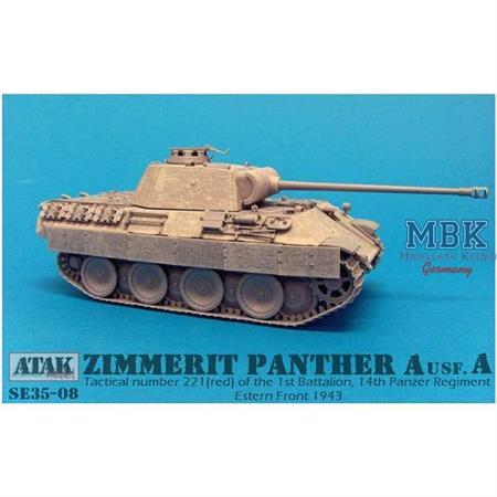 Zimmerit für Panther A early