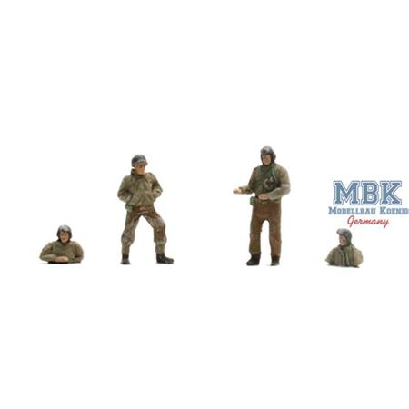 US Tank crew ( 4 Fig )