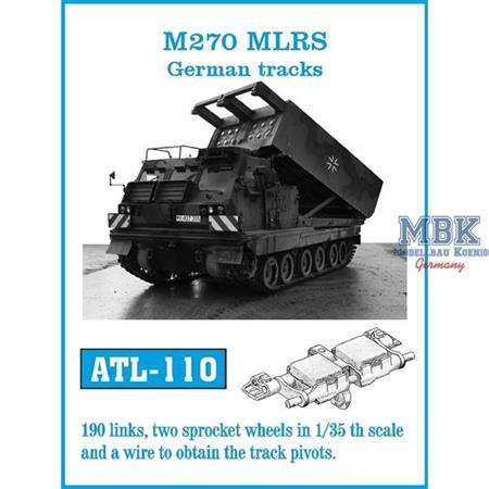 M270 MLRS / MARS German tracks