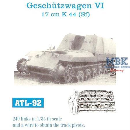 """17cm K44 auf Geschützwagen VI \""""Grille 2\"""""""