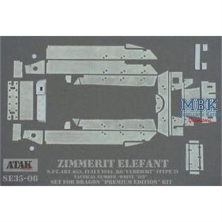 Zimmerit ELEFANT s.Pz.Abt.653, ITALY 1944 for KG