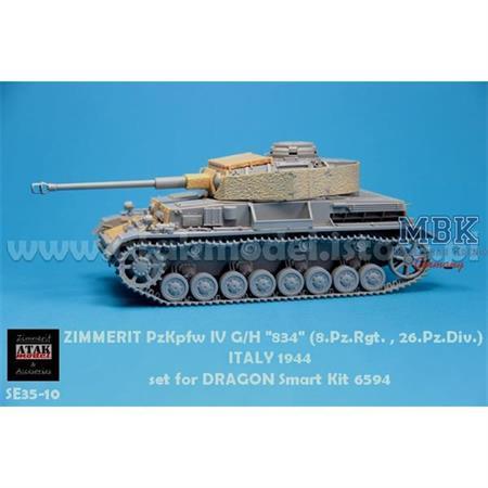 Panzer IV Ausf G/H 834 8.PzRgt. 26. Pz Div (Dragon