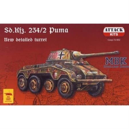 "Sd Kfz 234/2  ""Puma"" new detailed Turret"