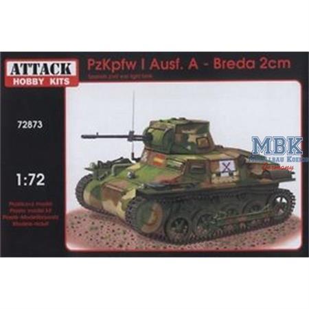 Pz. Kpfw I Ausf. A - Breda 2 cm