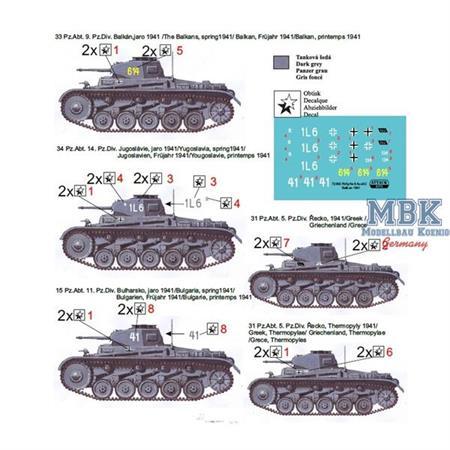 Pz. Kpfw. II Ausf. C Balkan-Yugoslavia