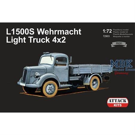 L1500S Wehrmacht light Truck 4x2    1/72