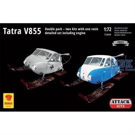 Tatra V855 Aerosan 2 x Bausätze  1/72