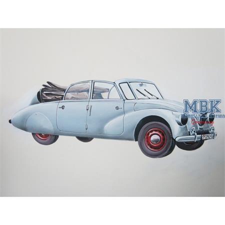 Tatra 87  Cabrio / Convertible 1/72