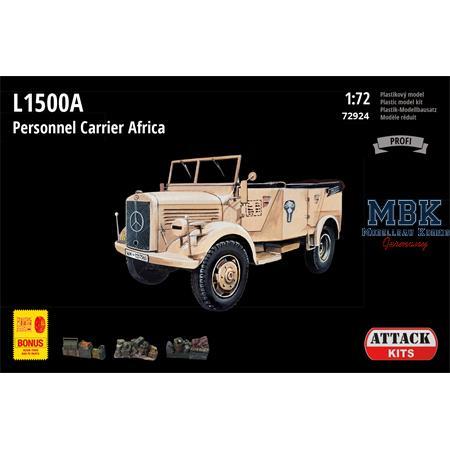 L1500A Personnel Carrier Africa  + Bonus 1/72
