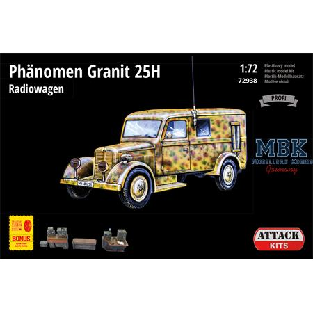 Phänomen Granit 25H Radiowagen  + Bonus 1/72