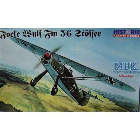 """Focke Wulf Fw-56 """"Stösser"""" Luftwaffe"""