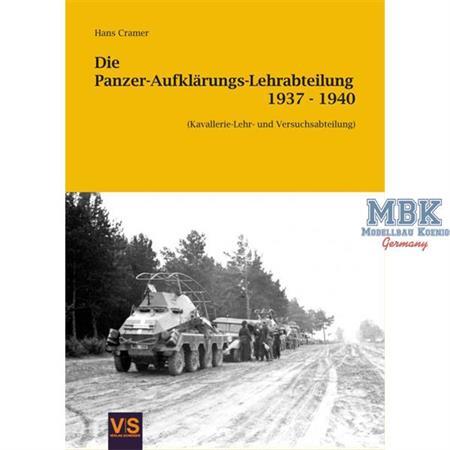 Panzer-Aufklärungs-Lehrabteilung 1937-1940