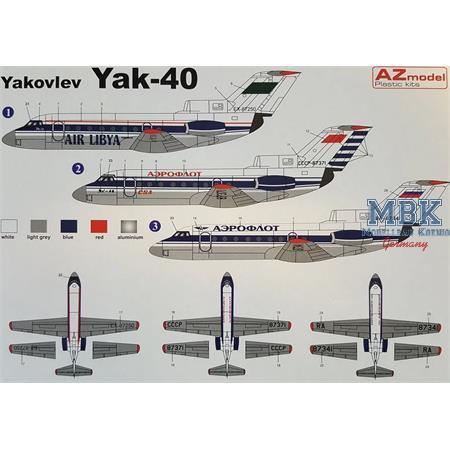 Yakovlev Yak-40 Aeroflot